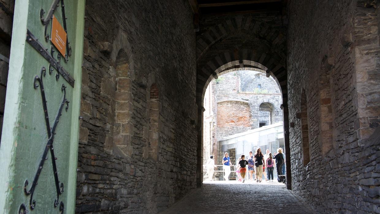 Гент замок. Главный вход