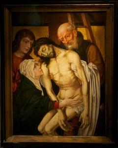 Панель Снятие с Креста собор Брюгге