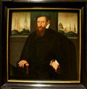Pieter Lootyns, панель, 1557 года, является работой Питера Порбуса