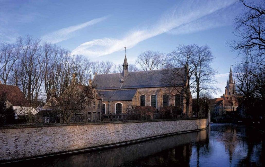 Церковь монастыря бегинок