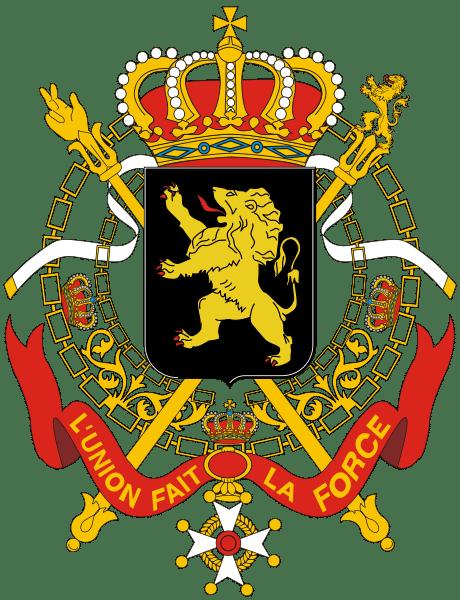 Государственный герб Бельгии
