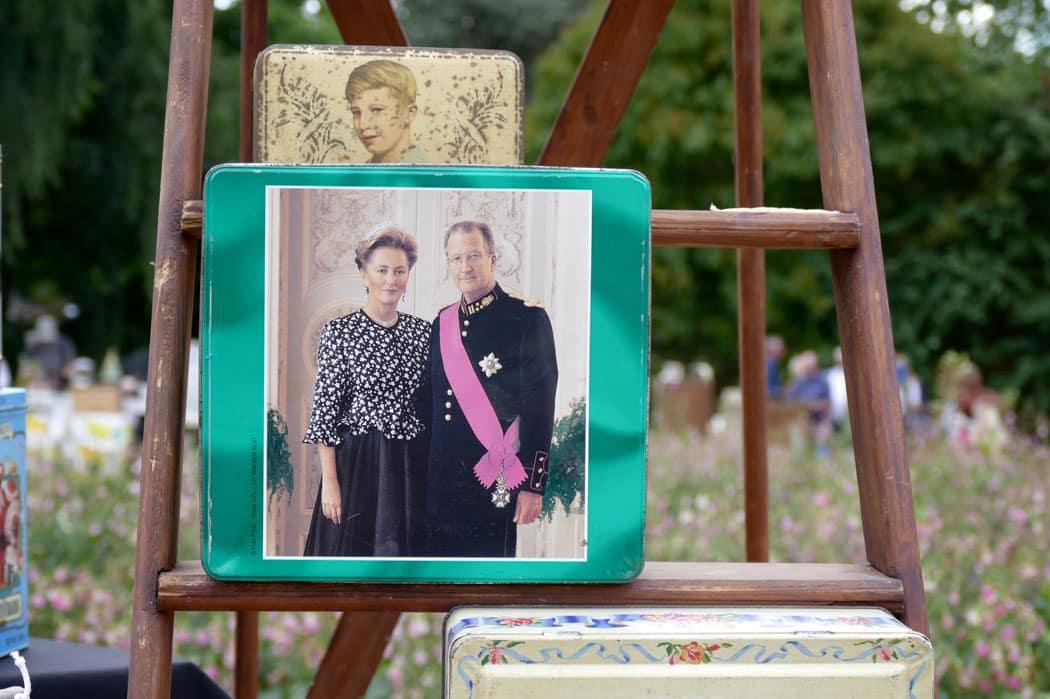 Альберт Второй и королева Паола