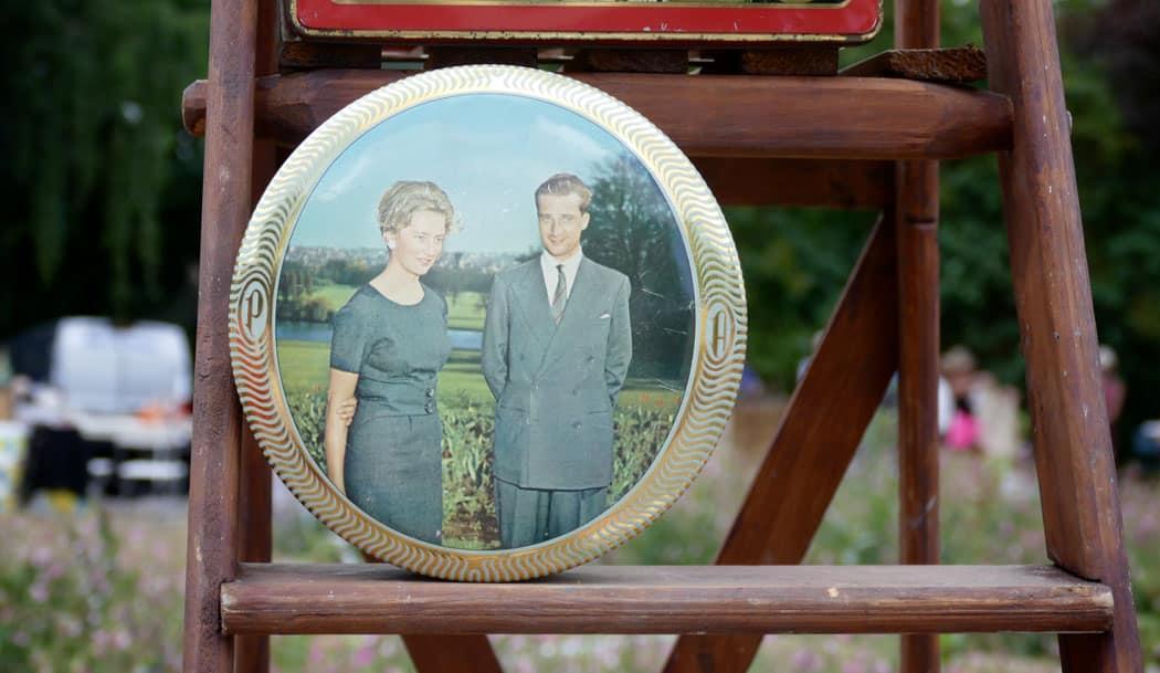Король Альберт II и королева Паола