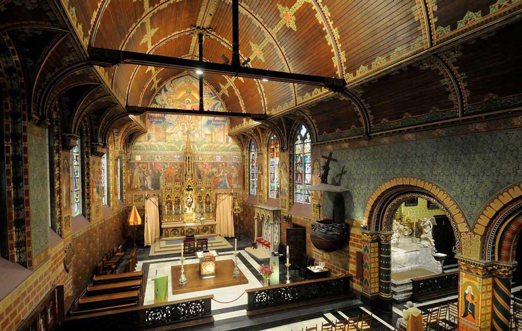 Брюгге базилика Святой Крови Верхняя часовня