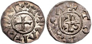 монеты этохи Карла Великого