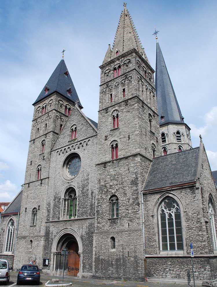 Гент церковь Святого Иакова