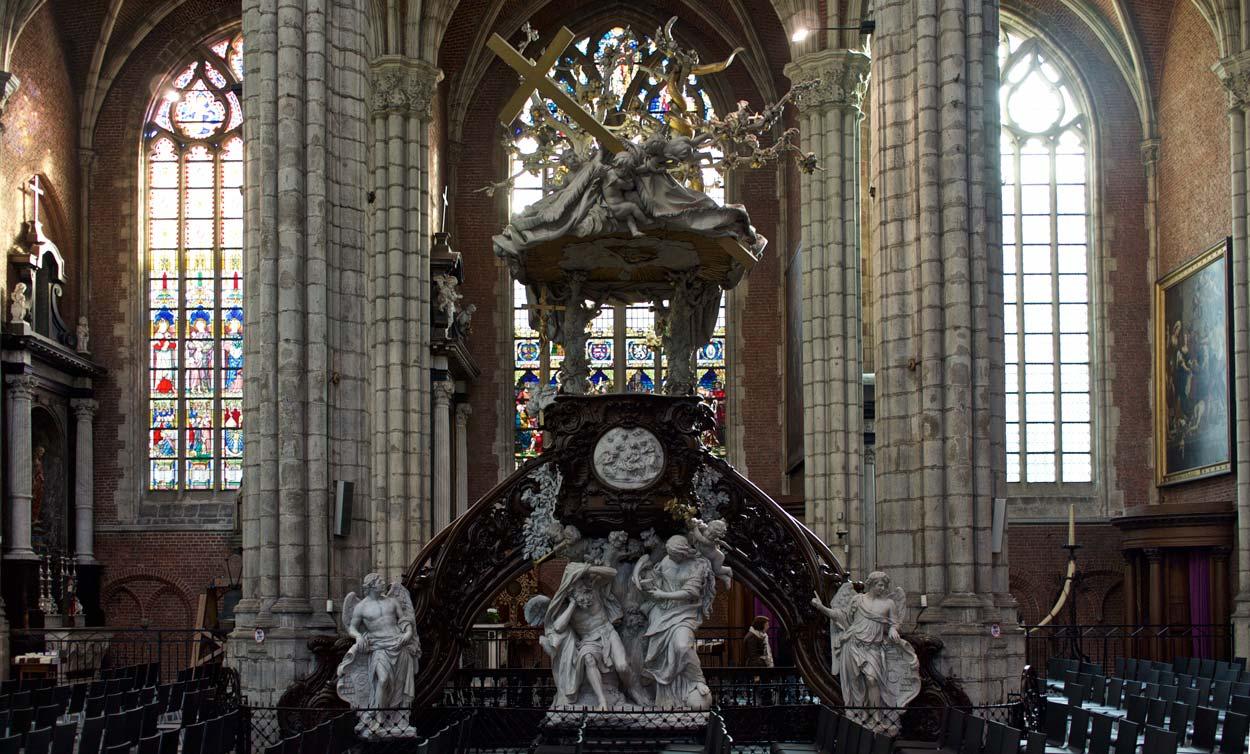Кафедра собора Св. Баво Гент