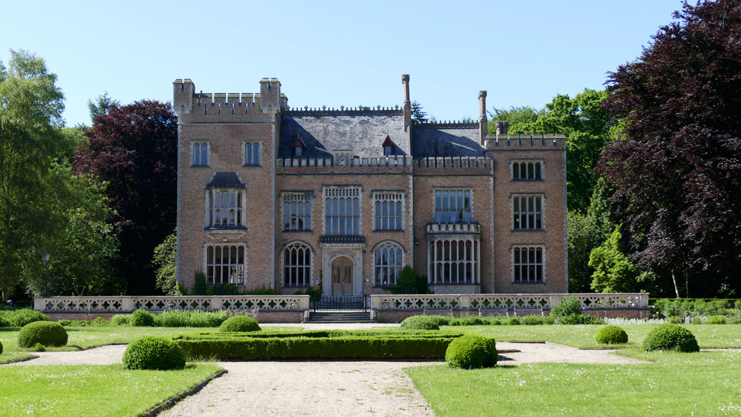 Брюгге замок Тюдор