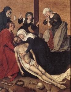 Снятие с креста Вранке ван дер Стокт