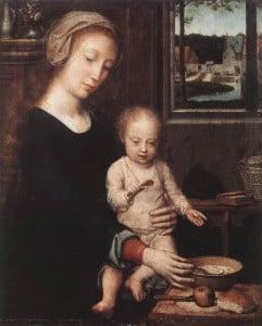 Герард Давид Богоматерь с Младенцем