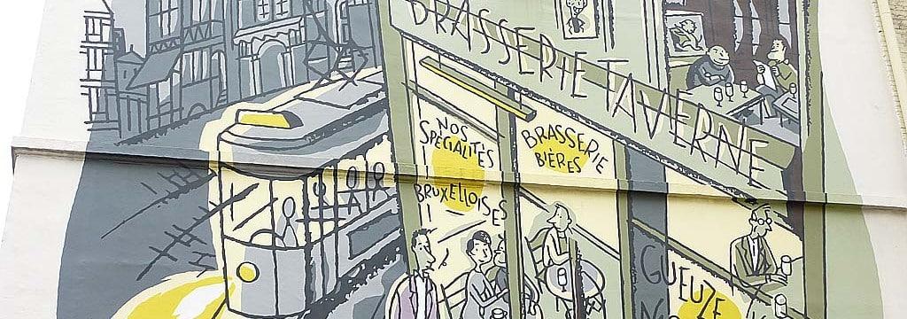 Брюссель комиксы