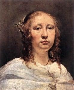 Ян де Брай Портрет молодой женщины