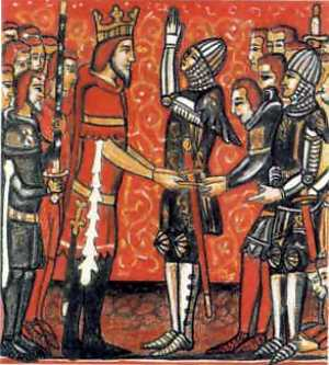 Карл Великий и Роланд