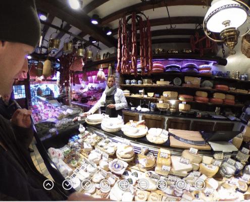 Сырный магазин в Брюгге