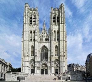Брюссель собор Святого Михаила и Святой Гудулы