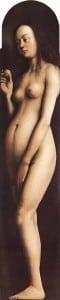 Гентский алтарь Ева (деталь)