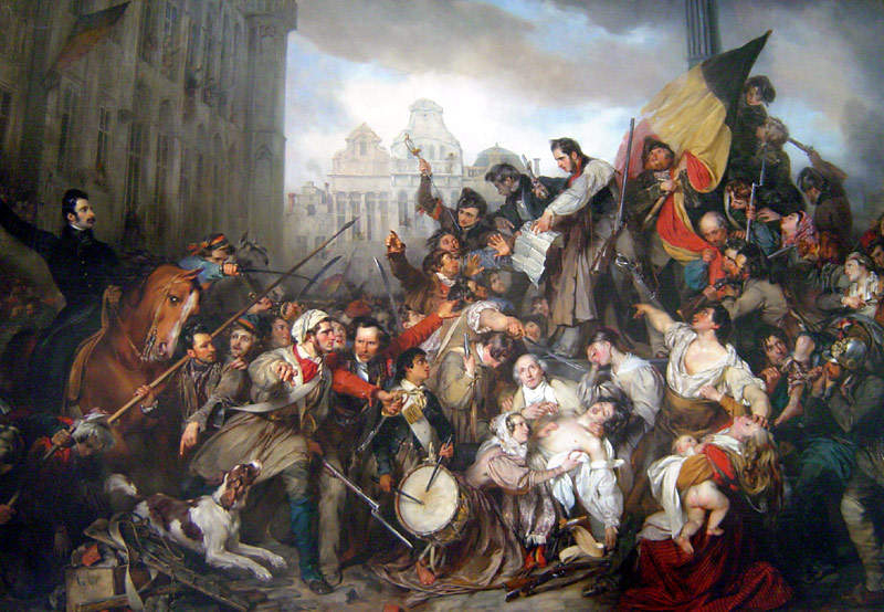 События сентябрьских дней 1830 года Густав Ваппер