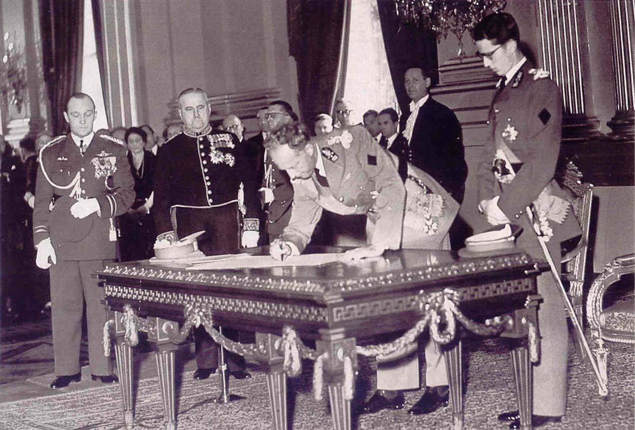 Леопольд III отречение от трона