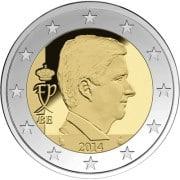 Король Бельгии Филипп монета