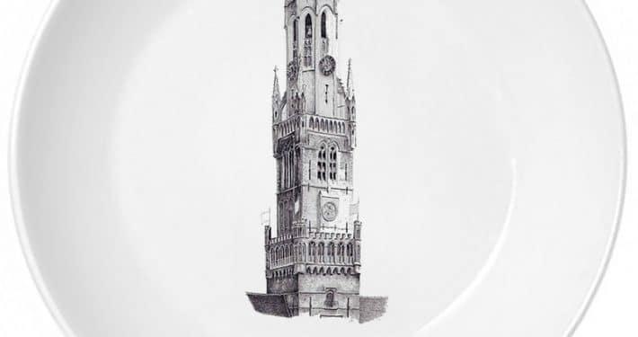 Брюгге башня Белфорт
