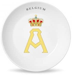Монограмма короля всех бельгийцев Альберта Первого