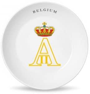 Монограмма короля всех бельгийцев Альберта Второго