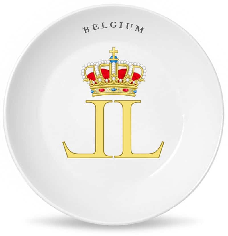 Монограмма короля всех бельгийцев Леопольда Первого