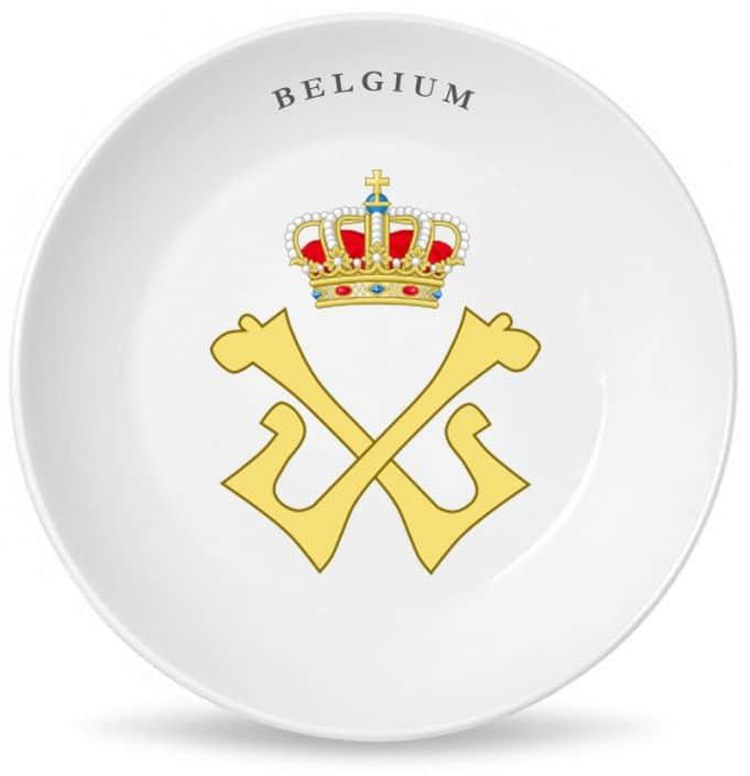 Монограмма короля всех бельгийцев Леопольда Второго