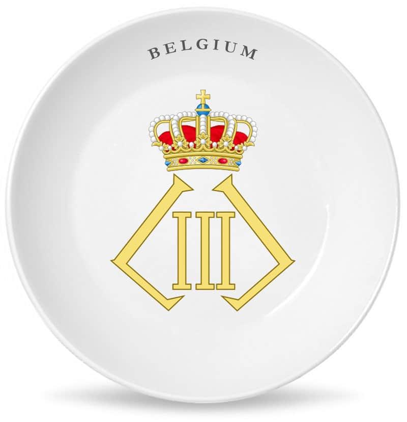 Монограмма короля всех бельгийцев Леопольда Третьего