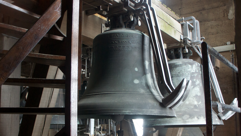 Колокол в башне Гент