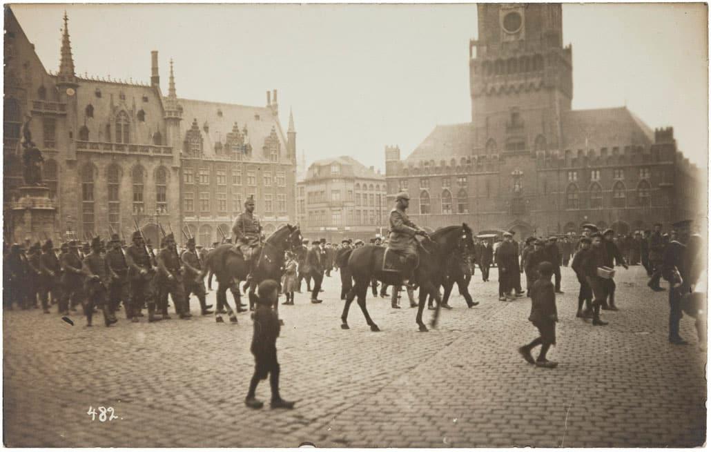 Брюгге первая мировая война