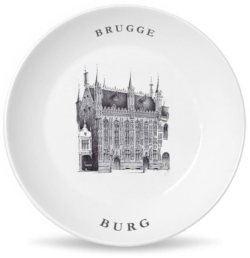 Брюгге площадь Бург