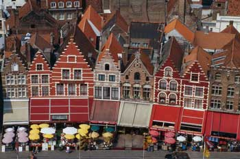 Брюгге вид города