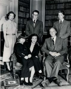 Леопольд III семья