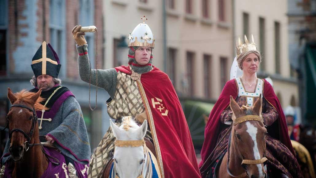 Брюгге процессия Святой Крови