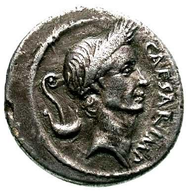 Монете с изображением Цезаря