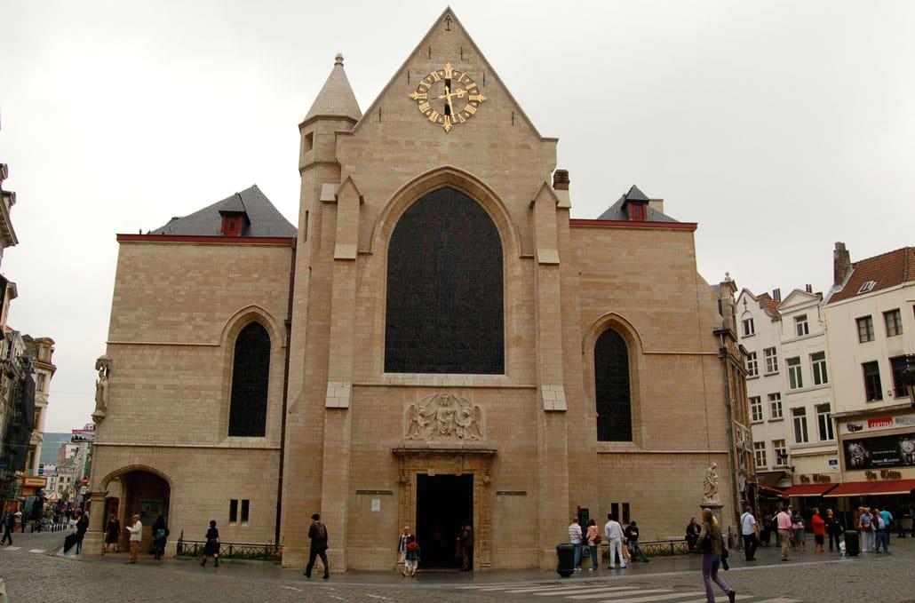 Церковь Святого Николая Брюссель