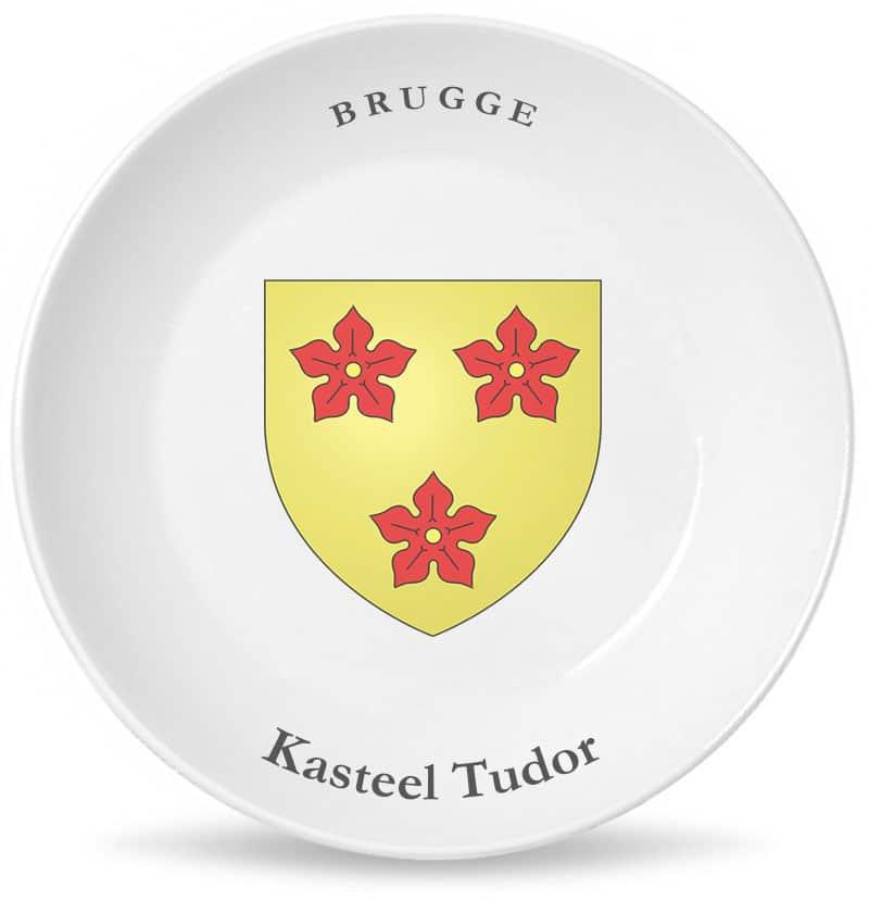 Замок Тюдор тарелка